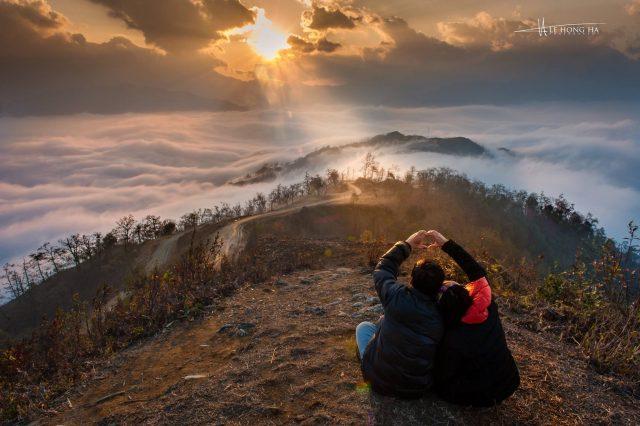 Ảnh cưới cặp đôi phượt thủ trên đỉnh Ngải Thầu