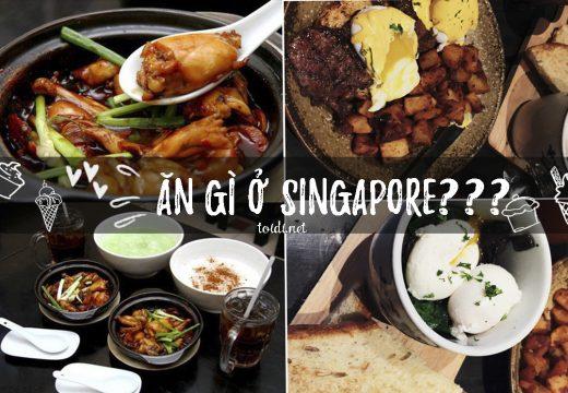 Món ngon Singapore