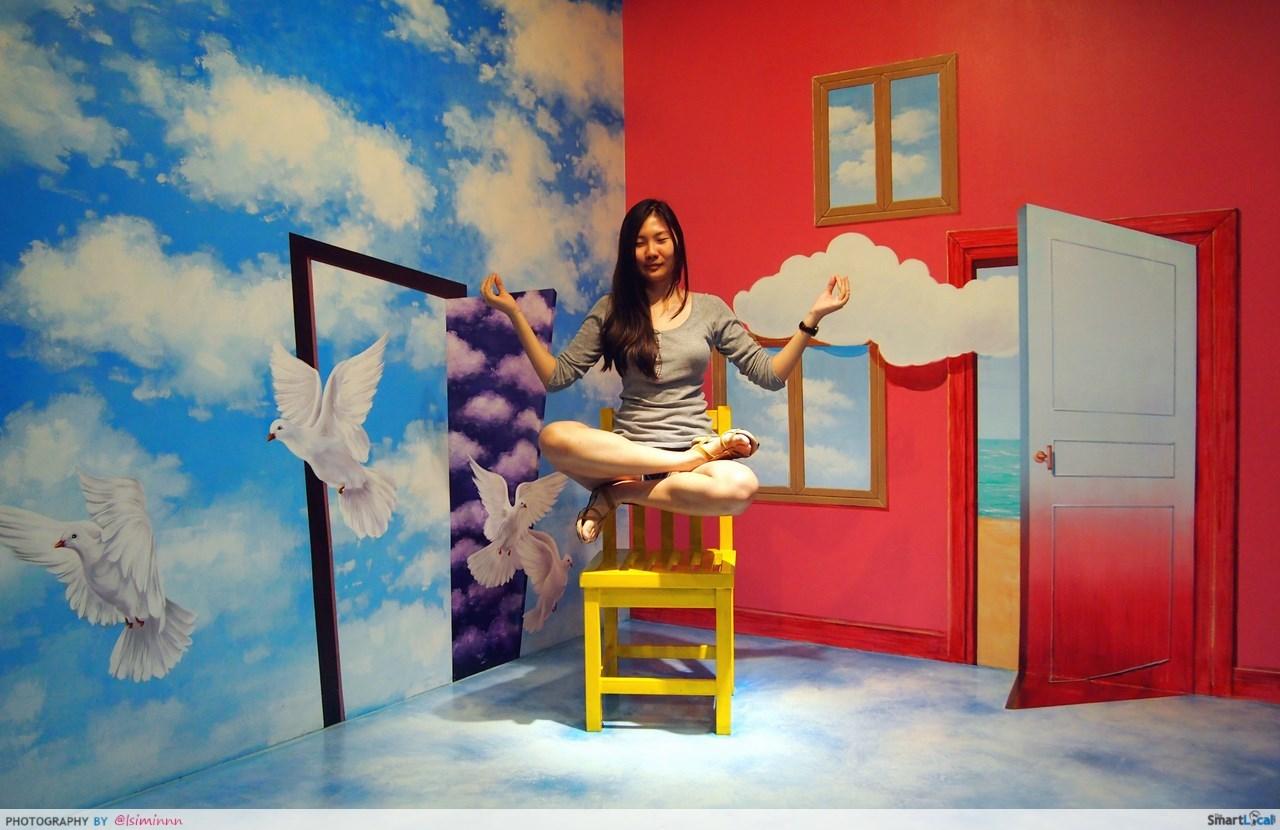 Vé 3D Trick Eye Museum - Bảo tàng 3D Singapore