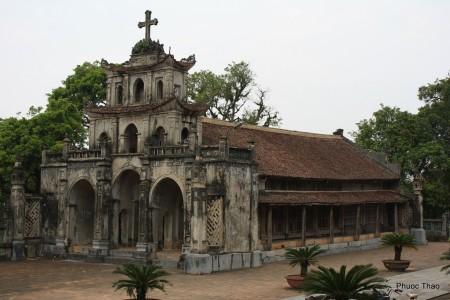 nhà thờ đá phát diệm du lịch ninh bình