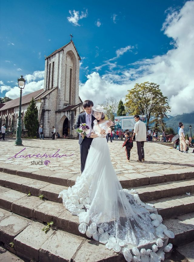 chụp ảnh cưới tại Sapa