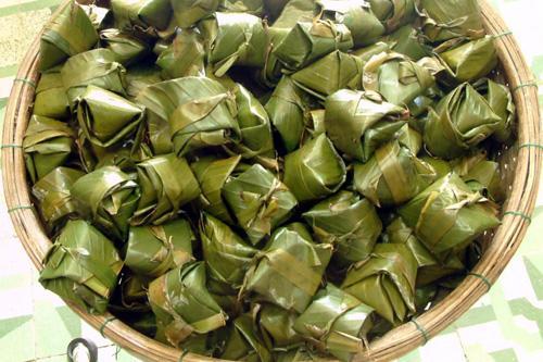 bánh ít lá gai đặc sản đảo Lý Sơn