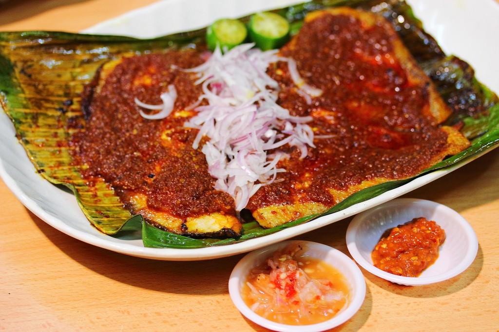 Cá đuối nướng ( kinh nghiệm du lịch singapore )