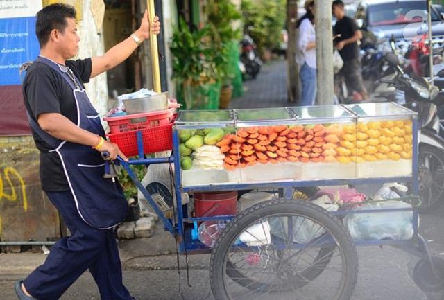 món ăn đường phố ở Thái Lan