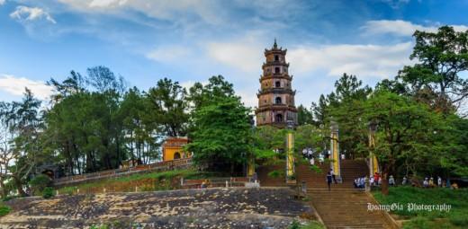 chùa thiên mụ du lịch huế