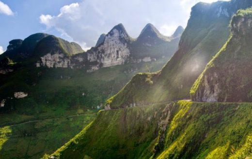 Con đường Hạnh Phúc ở Hà Giang