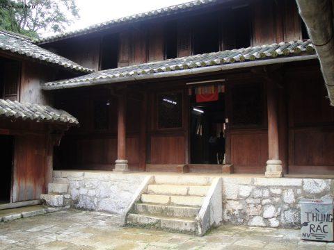 Di tích nhà cổ của vua Mèo ở Hà Giang