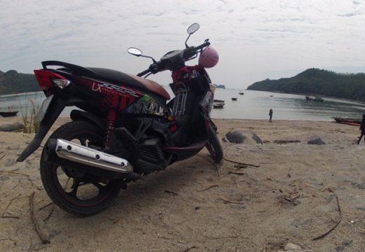 du lịch cát bà cuối tuần bằng xe máy