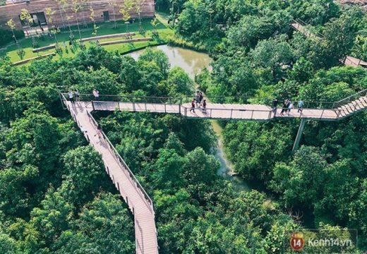 """Đừng quên ghé """"công viên cây xanh""""Pa Nai Krung khi đến du lịch Bangkok"""