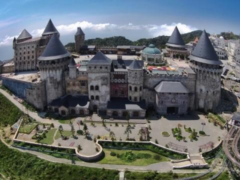 fantasy park Du lịch Bà Nà Hills