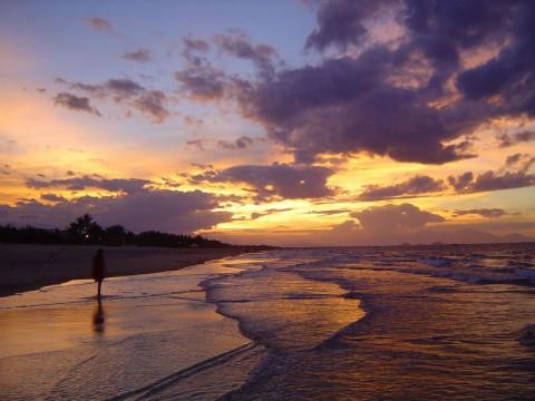 hoang hon Bãi biển Mỹ Khê