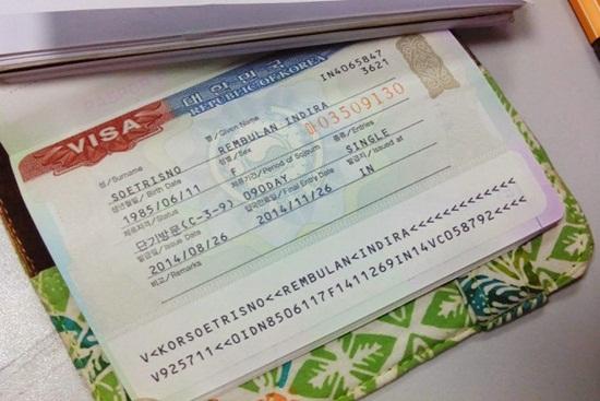 Những lưu ý khi xin visa hàn quốc Tự Túc