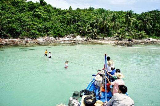lang chai Du lịch đảo Nam Du