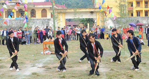 Lễ hội Gầu Tào ở Đồng Văn, Hà Giang _ Ảnh Minh Đức TTXVN