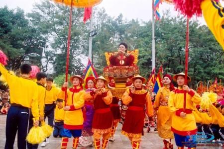 lễ hội hoa nư du lịch ninh bình