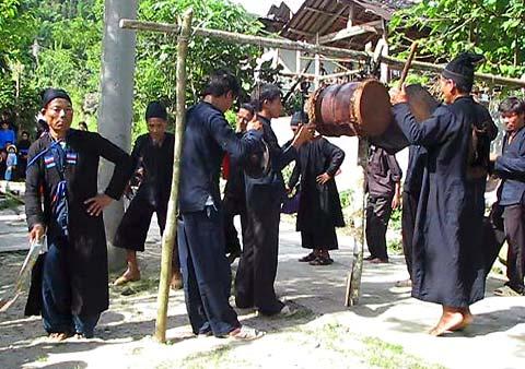 Lễ hội Khu Cù Tê ở Hoàng Su Phì