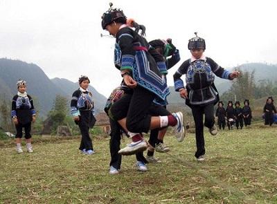 Lễ hội trùm chăn của người Hà Nhì ở Lào Cai