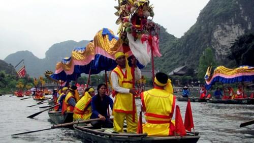 lễ hội truyền thống du lịch tràng an bái đính