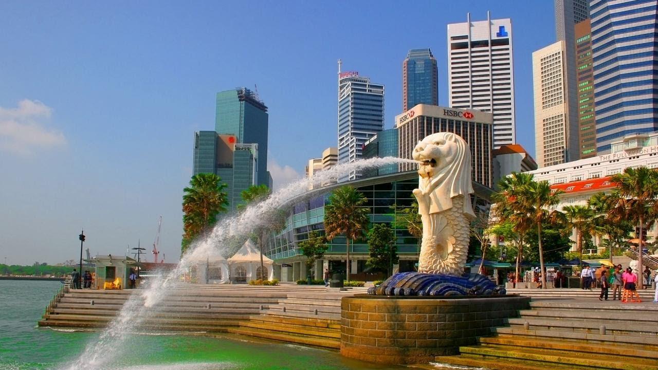 Công viên sư tử biển Merlion ( kinh nghiệm du lịch singapore )