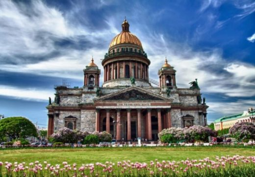 Những điểm du lịch tại Matxcova - St. Petersburg Nga