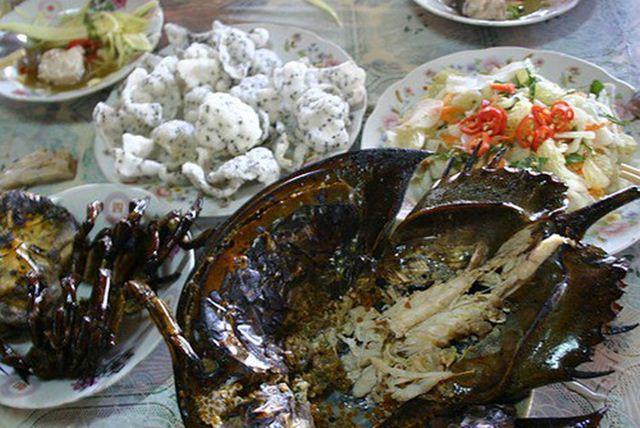 Những món hải sản tươi ngon ở Cát Bà