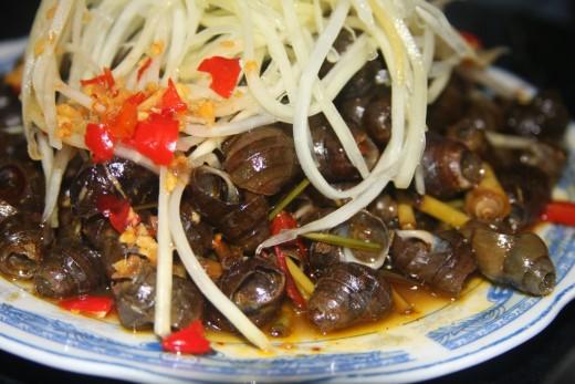 oc hut Món ăn vặt Đà Nẵng