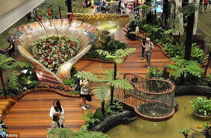 Sân Bay Changi ( kinh nghiệm du lịch singapore )