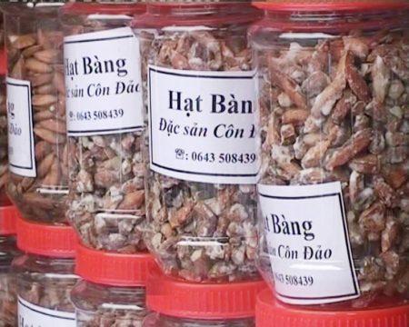 mứt hạt bàng Côn Đảo