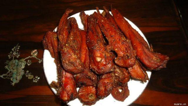 Thịt lợn hun khói Hà Giang