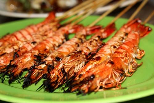 tom nuong Du lịch đảo Nam Du