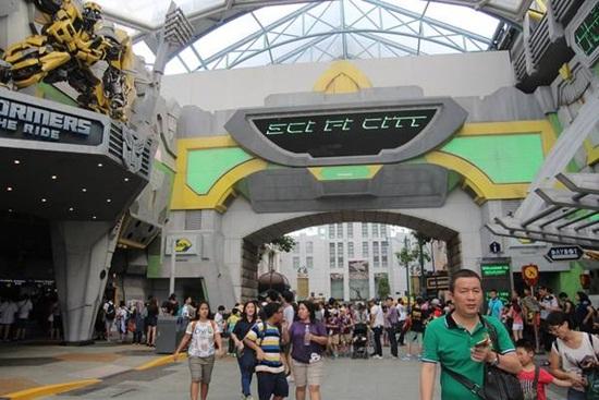 Top 7 khu vực tham quan chính ở Universal Studios Singapore