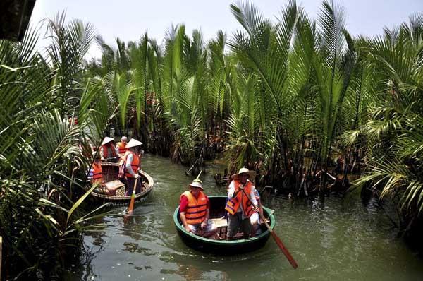 Tour du lịch Đà Nẵng - Rừng Dừa Bảy Mẫu