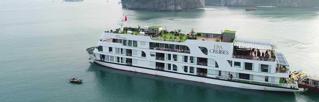 Tour Vịnh Lan Hạ - Du thuyền ERA CRUISE 5 sao - 2 ngày 1 đêm