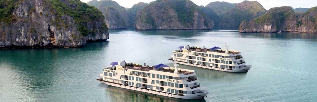 Tour Vịnh Lan Hạ - Du thuyền ERA CRUISE 5 sao - 3 ngày 1 đêm