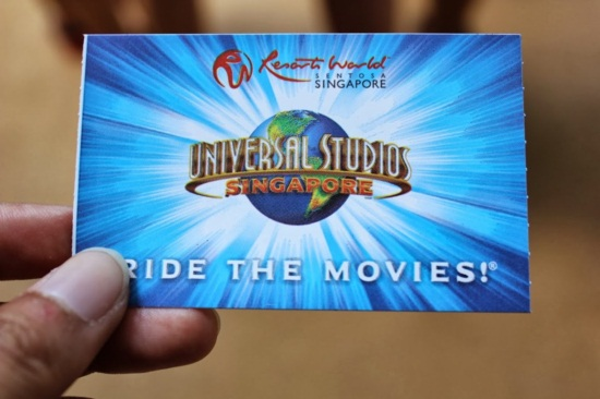 Vé vào cửa universal studio singapore